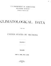 Climatological Data for the United States by Sections: Volume 2, Part 2