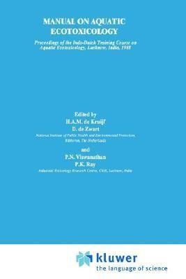Manual on Aquatic Ecotoxicology
