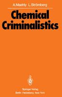 Chemical Criminalistics PDF