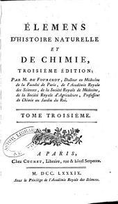 Élémens d'histoire naturelle et de chimie: Volume3