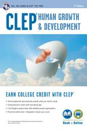 CLEP® Human Growth & Development Book + Online