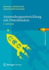 Anwendungsentwicklung mit Datenbanken: Ausgabe 5