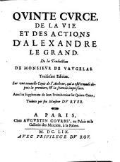 Quinte Curce, De la vie et des actions d'Alexandre le Grand