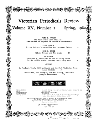 Victorian Periodicals Review