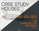 Case Study Houses  Ediz  inglese  francese e tedesca PDF