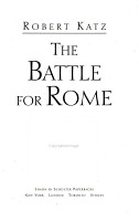 The Battle for Rome PDF