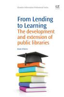 From Lending to Learning PDF
