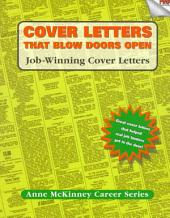 Cover Letters that Blow Doors Open