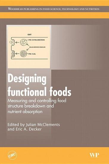 Designing Functional Foods PDF