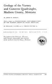 Geological Survey Bulletin: Issue 1459