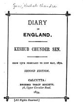 Diary in England