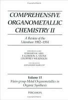 Main Group Metal Organometallics in Organic Synthesis PDF