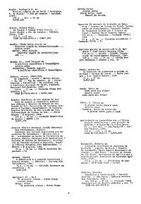 Accessions List  Brazil PDF