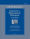 Peterson s Graduate and Professional Programs PDF