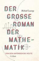 Der gro  e Roman der Mathematik PDF