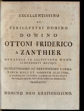 Dissertatio Iuridica De Impossibili Conditione Contractum Non Vitiante