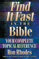 Find It Fast in the Bible PDF