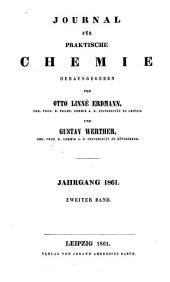 Journal für praktische Chemie: Band 83