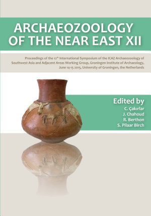 Archaeozoology of the Near East XII PDF