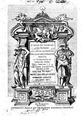 L'isole piu famose del mondo descritte da Thomaso Porcacchi da Castiglione arretino e intagliate da Girolamo Porro padouano con noua aggionta ..