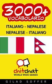 3000+ Italiano - Nepalese Nepalese - Italiano Vocabolario