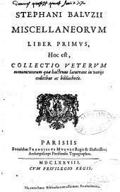 Miscellaneorum