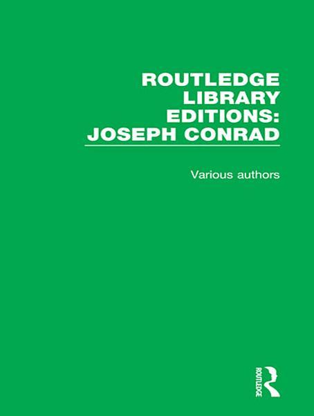 Routledge Library Editions: Joseph Conrad