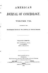 American Journal of Conchology: Volume 7