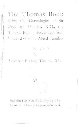 The Thomas Book
