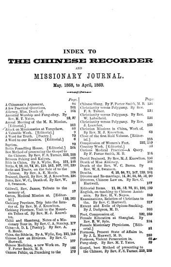 The Chinese Recorder and Missionary Journal PDF