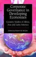 Corporate Governance in Developing Economies PDF