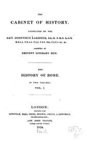 The History of Rome: Volume 1