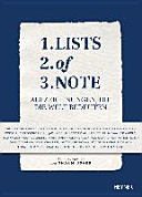 Lists of Note PDF