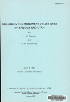 Drilling in the Monument Valley Area of Arizona and Utah PDF