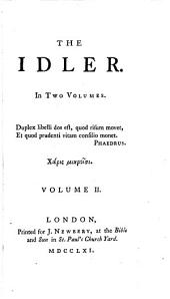 The Idler ...