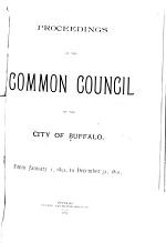 Proceedings of the Common Council of the City of Buffalo, ...