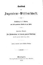 Handbuch der Ingenieur-Wissenschaft: Band 2