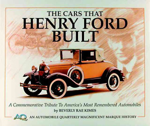 The Cars That Henry Ford Built PDF