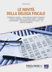 Le novità della delega fiscale