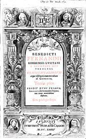 Commentaria atque observationes morales in Genesim: Volume 1