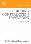 Building Construction Handbook Low Priced Edition PDF