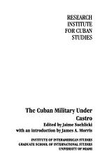 The Cuban Military Under Castro