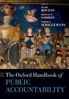 The Oxford Handbook Public Accountability PDF