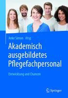 Akademisch ausgebildetes Pflegefachpersonal PDF