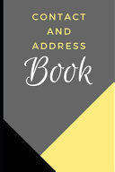 Contact and Address Book