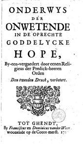 Onderwys in de oprechte Goddelyke Hope