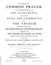 The Book of Common Prayer, Etc