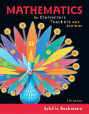 Mathematics for Elementary Teachers with Activities PDF