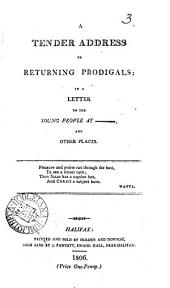 A tender address to returning prodigals, in a letter: Volume 3