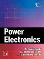 Power Electronics PDF